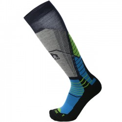 MICO 1666 Heavy weight ARGENTO XT2 - Ski socks  - Blue
