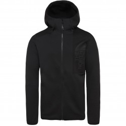THE NORTH FACE Men's Merak Fleece Hoodie - TNF Black/TNF Black
