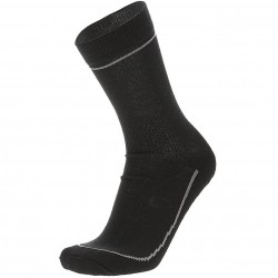 MICO 3018 Medium Weight Primaloft Outdoor socks - Black