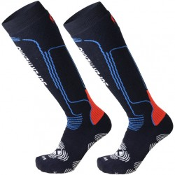 MICO 116 Heavy Superthermo Primaloft -Ski socks - Blue