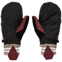 VOLCOM Bistro Mitt - Γυναικεία γάντια Ski/Snowboard - Scarlet