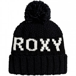 ROXY Tonic - Γυναικείος σκούφος Pom-Pom - True Black
