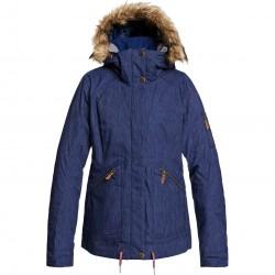 ROXY Meade Denim - Γυναικείο Snow Jacket - Mid Denim