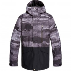 QUIKSILVER Mission block - Ανδρικό Snow Jacket - Black Matte painting