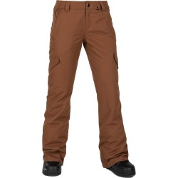 VOLCOM Bridger Insulated - Γυναικείο παντελόνι Snow - Copper