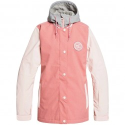 DC DCLA - Women's Snow Jacket - Dusty Rose
