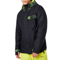 OAKLEY Division 2.0 Insulated 2L - Men's Snow Jacket - Blackout