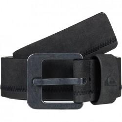 QUIKSILVER Binge -Men's Faux Leather Belt -Black