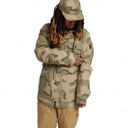 BURTON Dunmore - Men's snow Jacket - Barren Camo
