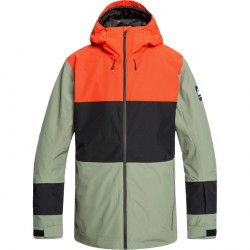 QUIKSILVER Sycamore - Men's Snow Jacket - Agave Green
