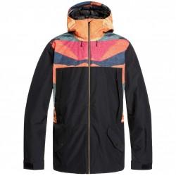 QUIKSILVER TR Ambition - Men's Snow Jacket - Apricot OrangeTR Sunrises