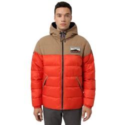 NAPAPIJRI Ater - Men's Puffer Jacket - Orange clay