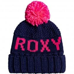 ROXY Tonic - Γυναικείος σκούφος Pom-Pom - Medieval Blue