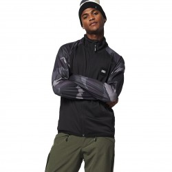 O'NEILL Printed Ski Fleece for Men - Black Out