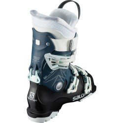 SALOMON QST ACCESS 70 - Petrol Blue/White/Shooting Sea - Γυναικείες Μπότες Ski 2021