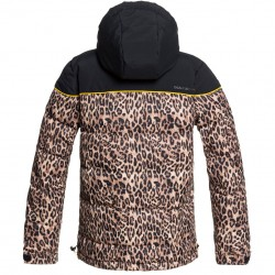 DC Diva - Γυναικείο Snow Jacket - Leopard Fade
