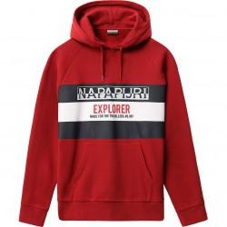 NAPAPIJRI Boves - Ανδρικό Φούτερ  - Red