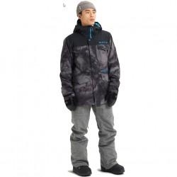 BURTON COVERT Men's snow Jacket - Low Pressure/True Black