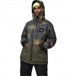 O'NEILL  Textured - Men's snow Jacket - Green Aop