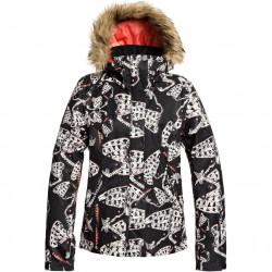 ROXY Jet Ski - Women's Snow Jacket - True Black Impressions