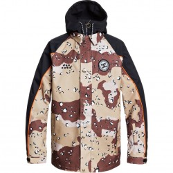 DC DCSC - Men's Snow Jacket - Chocolate Chip Camo