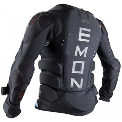 DEMON Flex Force X2 Top D3O - Γυναικείο άνω προστατευτικό - Black