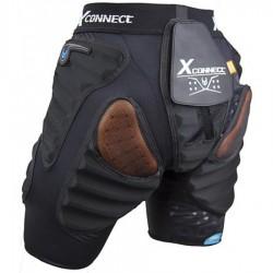 DEMON  Flex Force X2 D3O Women's Shorts - Γυναικείο Προστατευτικό Σορτς - Black