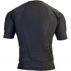 DEMON Pro Fit Short Sleeve Top - Ανδρικό άνω προστατευτικό - Black