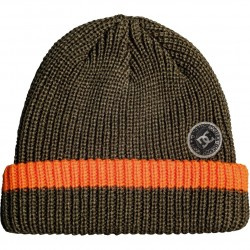 DC Backside - Cuff Beanie for Men - Olive night