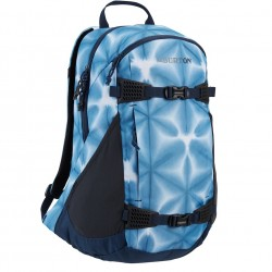 BURTON Women's Day Hiker 25L Backpack - Blue Dailola Shibori