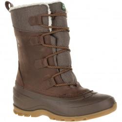 Kamik SNOWGEM - Women's warm winter boots - Dark Brown