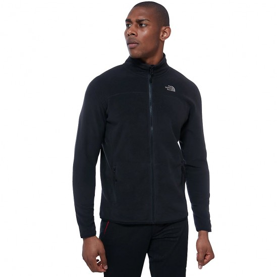 THE NORTH FACE  M 100 Glacier - Men's Full Zip fleece - TNF Black