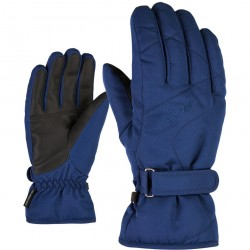 ZIENER KADDY - Lady ski gloves - Estate Blue