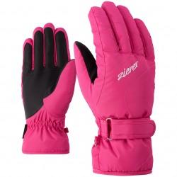 ZIENER KADDY - Lady ski gloves - Pink