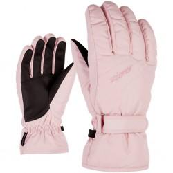 ZIENER KADDY - Lady ski gloves - Rose