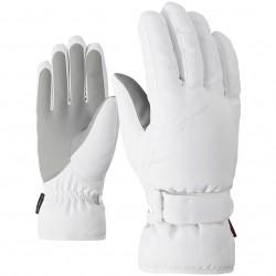 ZIENER KADDY - Lady ski gloves - White