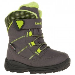 Kamik STANCE - Kid's Winter boots - Charcoal