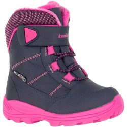 Kamik STANCE - Kid's Winter boots - Navy/Magenda