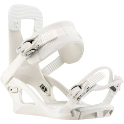 K2 Bedford White/Champagne - Women's Snowboard Bindings 2020