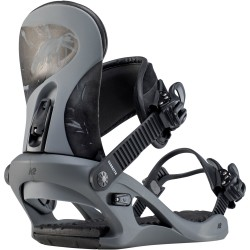 K2 CASSETTE Grey - Women's snowboard bindings 2020