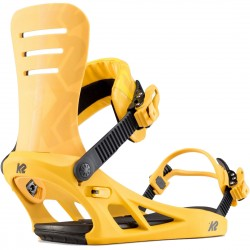 K2 Formula Mustard - Men's Snowboard Bindings 2020