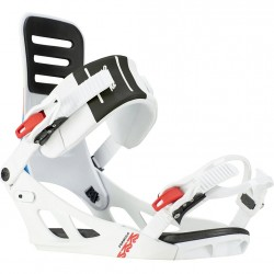 K2 Formula White - Men's Snowboard Bindings