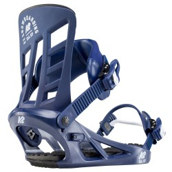 K2 Indy Navy - Men's snowboard bindings 2020