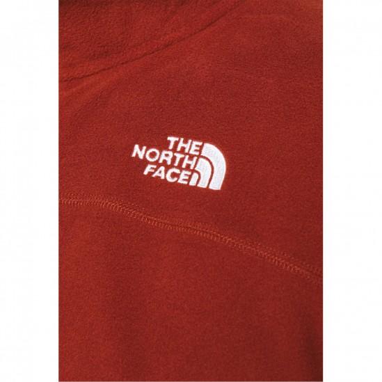 THE NORTH FACE  M 100 Glacier - Men's Full Zip fleece - Brandy Brown