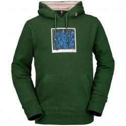 VOLCOM Arthur Longo DI - Men's Pullover Hoodie - Forest