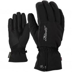 ZIENER KIARA AS PR Black Lady glove ski