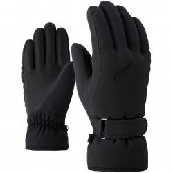 ZIENER KADDY - Lady ski gloves - Black