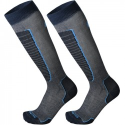 MICO 230 Light weight - Basic Ski socks - Blue Azzuro