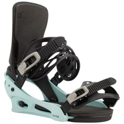 BURTON Cartel Re:Flex™ - Black/Blue - Men's Snowboard Binding 2021