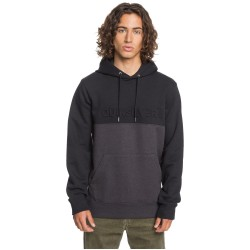 QUIKSILVER Emboss Block - Hoodie for Men - Black
